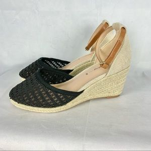 IN EVERY STORY espadrille wedge sandals Sz 8